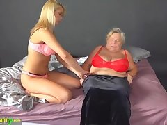 Compilation grannies with matures with dildos