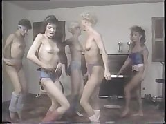 Aerobics Girls Club (1986) Classic Lesbian Workout Eighties Ladies Oiled Up