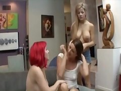 TWO STEP DAUGHTER SEDUCE STEP MOM